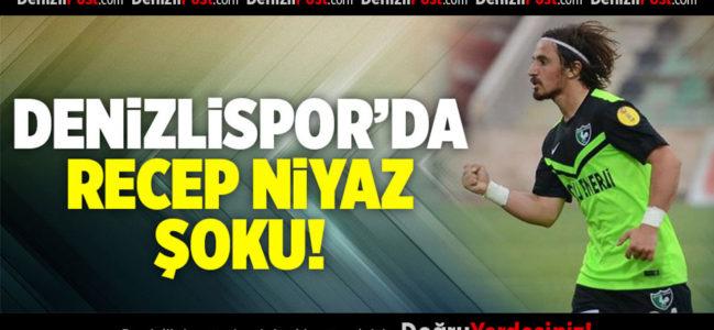 Denizlispor'da Recep şoku