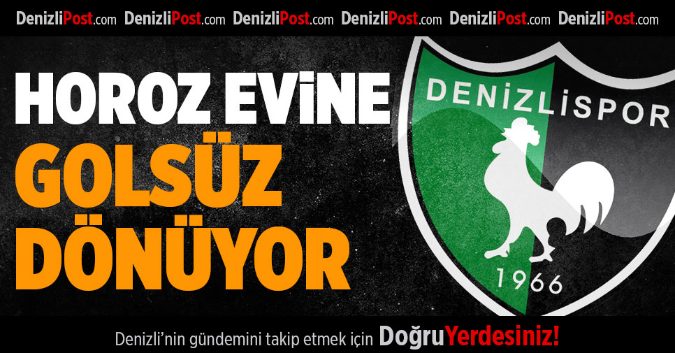 Bandırmaspor- Denizlispor: 0-0