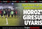 Denizlispor'a Giresun uyarısı
