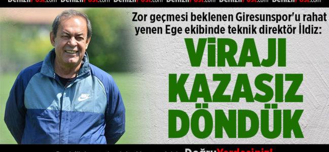 Denizlispor'dan Süper Lig'e dev adım