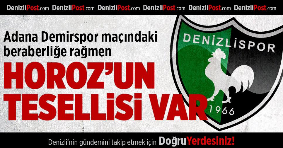 Denizlispor'un tesellisi var