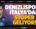 Denizlispor'a İtalya'dan Stoper Geliyor