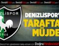 Denizlispor'dan Taraftara Müjde!
