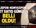 Denizlispor-Konyaspor Bilet Satış Günü Belli Oldu