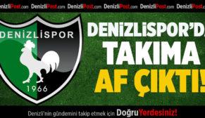 Denizlispor'da Takıma Af Çıktı