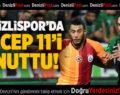 Denizlispor'da Recep 11'i Unuttu