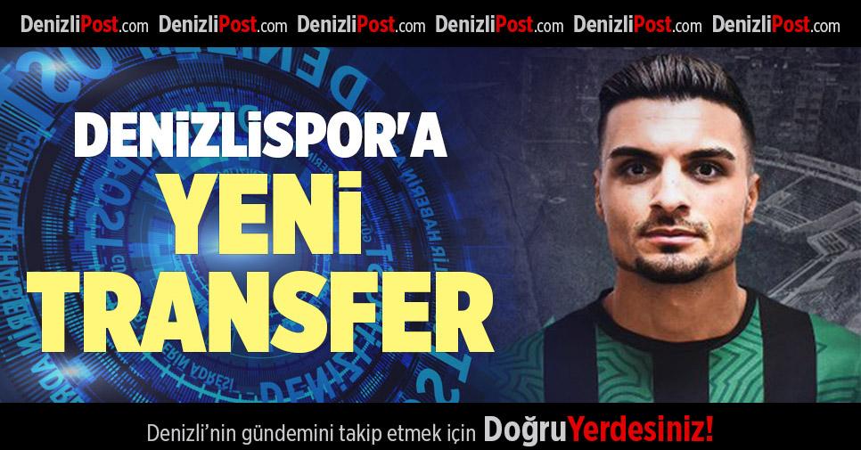 DENİZLİSPOR'A YENİ  TRANSFER