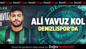 ALİ YAVUZ KOL DENİZLİSPOR'DA