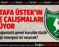 Denizlispor'da Mustafa Üstek'in liste çalışmaları sürüyor