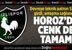 Denizlispor'da Cenk de tamam