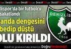 Denizlispor'da Bir Futbolcu Daha Sakatlandı