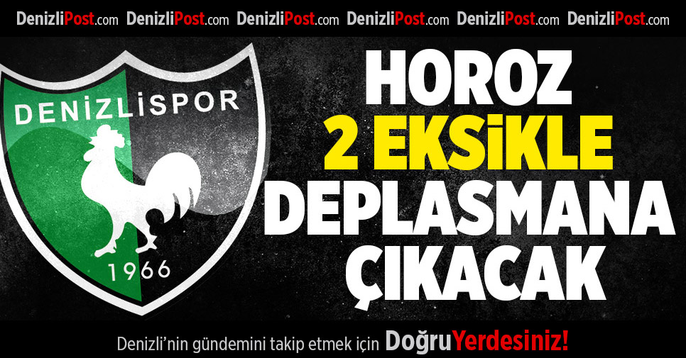 Denizlispor, Eskişehirspor deplasmanında