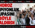 Denizlispor'da görkemli şampiyonluk kutlaması