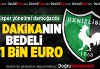 Denizlispor'da seferberlik