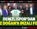 DENİZLİSPOR'DAN İMZALI FORMA