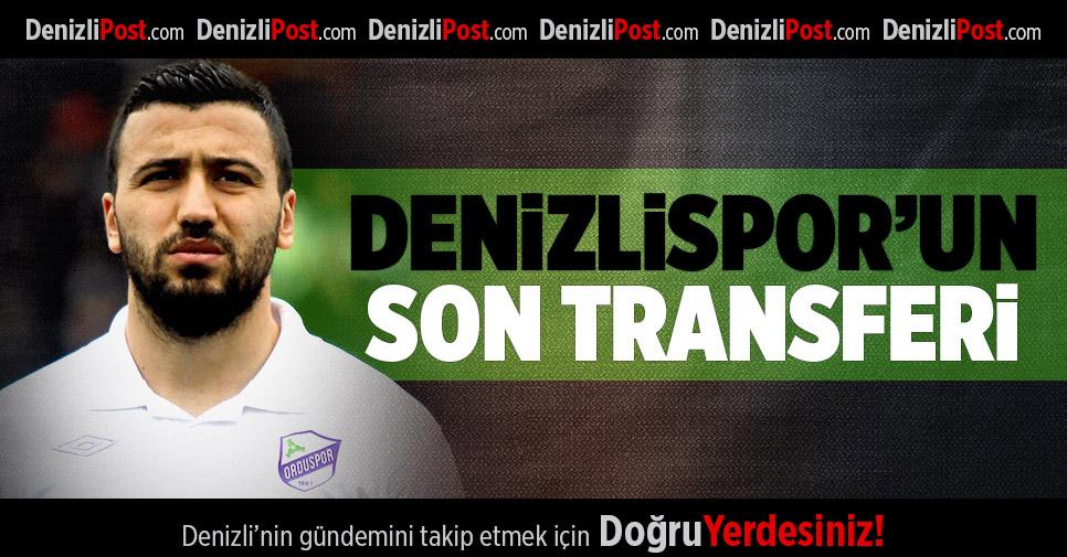 Denizlispor'un son transferi Anıl