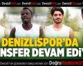 Denizlispor'da transfer devam ediyor