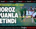 Denizlispor-Mersin İdmanyurdu: 2-2