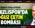 Başkan Urkay'dan bomba açıklama