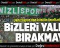 Denizlispor'dan Küskün Taraftarlara Çağrı