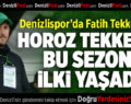 Denizlispor'da Tekke farkı