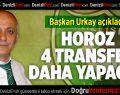 Denizlispor 4 Transfer Daha Yapacak