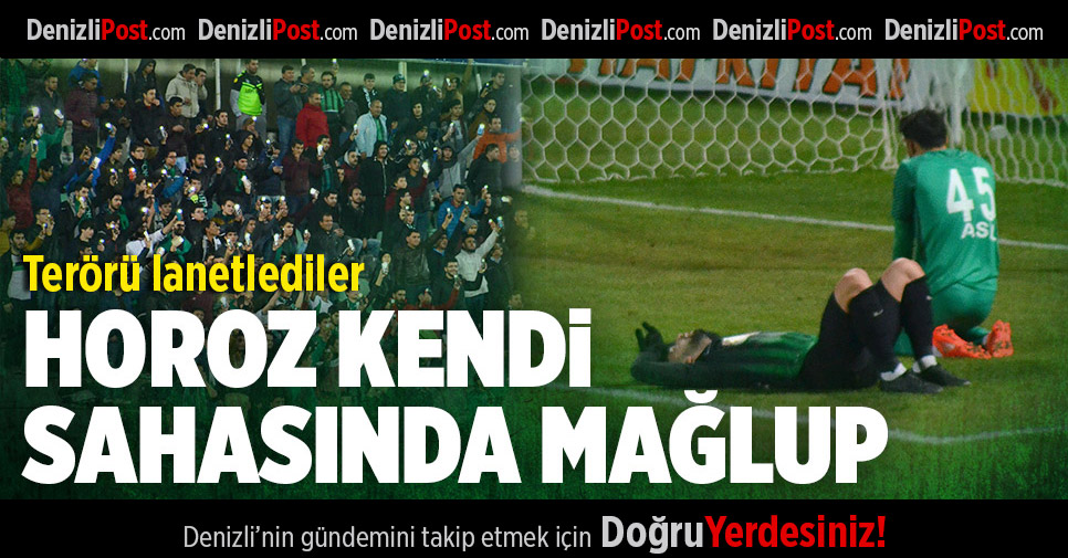 Denizlispor-Ümraniyespor: 0-2