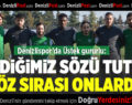 Denizlispor'da Üstek gururlu