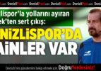 Denizlispor'la Yollarını Ayıran Şimşek'ten İlk Açıklama