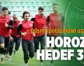 Horoz'da Hedef 3 Puan