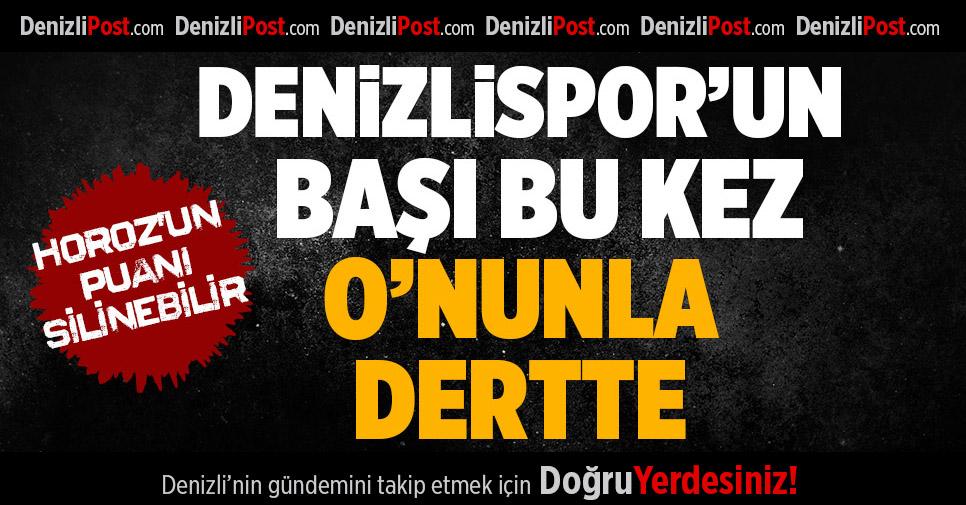 Denizlispor'a FIFA'dan yeni tehlike
