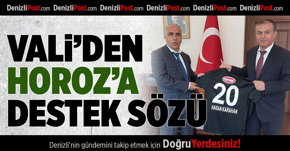 Denizlispor'a validen destek sözü