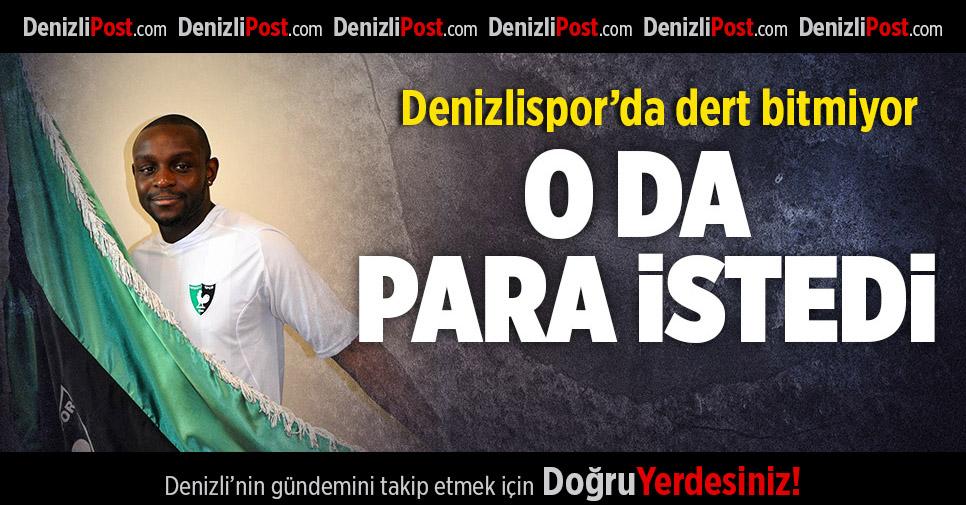 Denizlispor'da dert bitmiyor