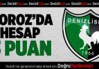 Denizlispor'da hesap 3 puan