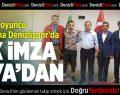 Denizlispor'da ilk imza Ziya'dan