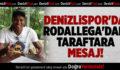 Denizlispor'da Rodallega'dan mesaj var