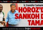 Denizlispor'da Sankoh da tamam