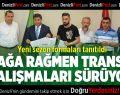 Denizlispor'da yasağa rağmen transfer çalışmaları sürüyor