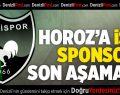 Denizlispor'a isim sponsoru son aşamada