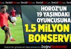 Denizlispor'un defans oyuncusu Alperen, transferin gözdesi