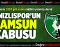 Denizlispor'un Samsun kabusu