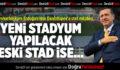 Cumhurbaşkanı Erdoğan'dan Denizlispor'a stat müjdesi