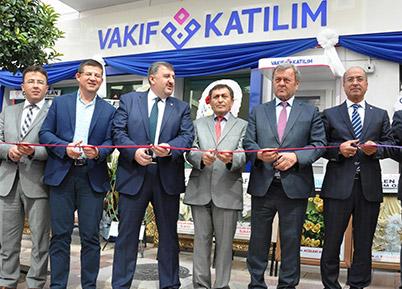 Denizli'ye Vakıf Katılım Bankası şubesi
