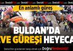 Buldan'da Deve Güreşi Heyecanı Yaşandı