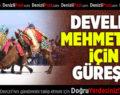 Develer Mehmetçik İçin Güreşti