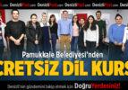 Pamukkale Belediyesi'nden Ücretsiz Dil Kursu