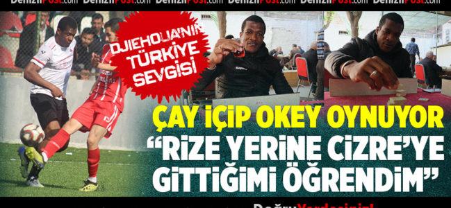 Djiehoua'nın Türkiye sevgisi