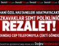 DOKUZKAVAKLAR SEMT POLİKLİNİĞİNDE REZALET!