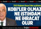 DSO Başkanı Keçeci'den KOBİ Açıklaması