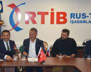 BAŞKAN ERDOĞAN, MOSKOVA'DA RTİB'İ ZİYARET ETTİ